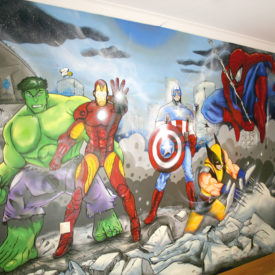 MARVEL KIDS ROOM